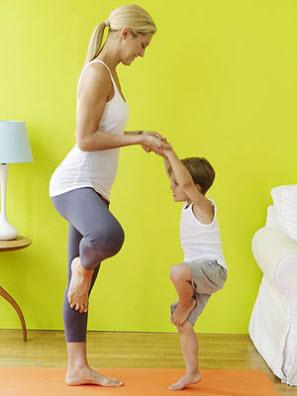 8 Yoga poses to help your toddler sleep