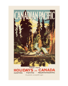 Canadian Pacific Travel Poster_Encore Print Society