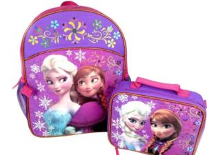 Frozen lunchbag & backpack