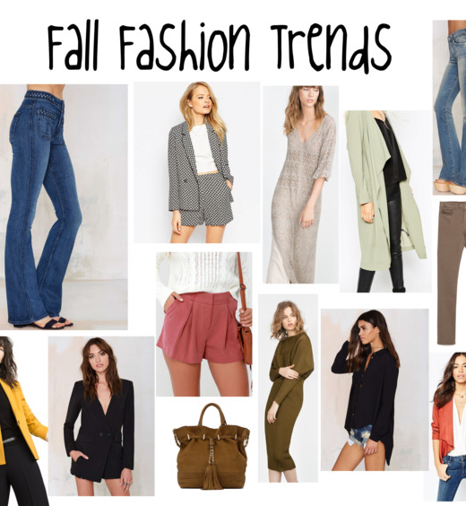 Fall Fashion Trends For 2017