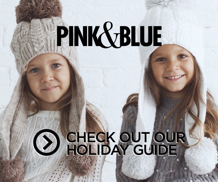 Kids Fashion-Winter Holiday Guide Ad for P&