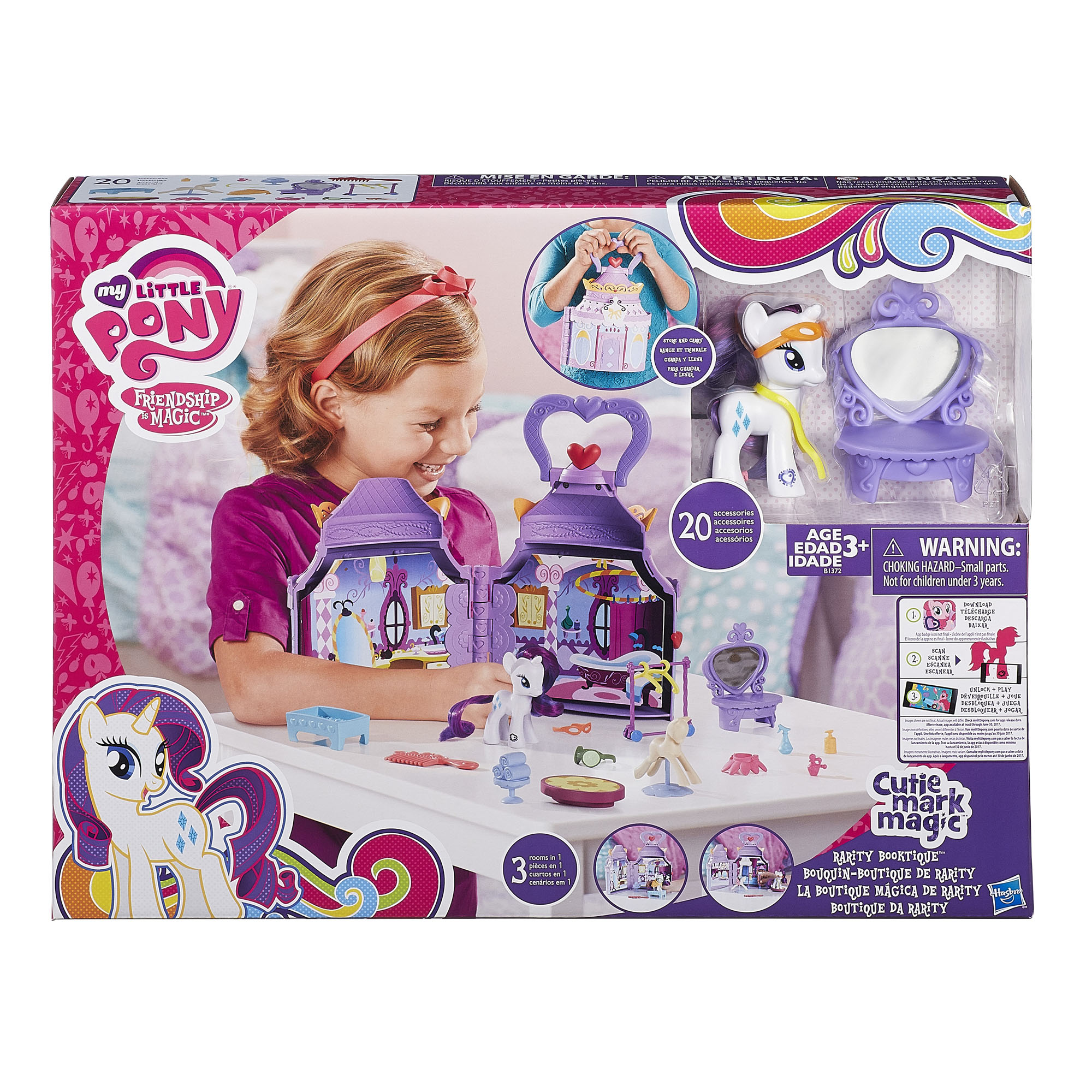 My Little Pony Rarity Boutique Playlet
