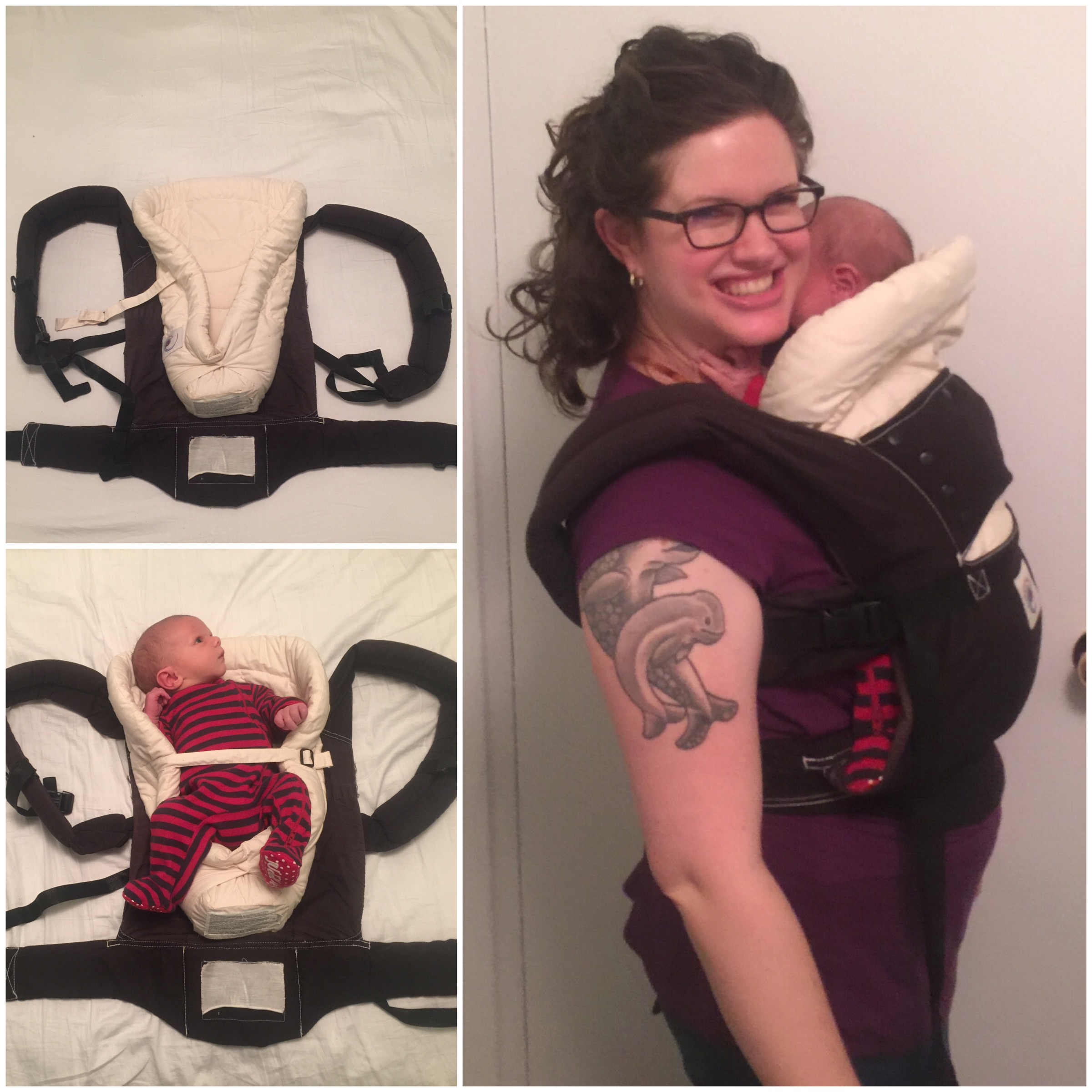 Hacking Your Baby Carrier Pink And Blue Magazine