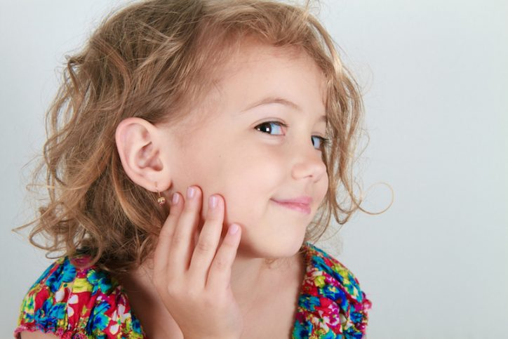 Kids Ear Piercing For Or Against Pink And Blue Magazine