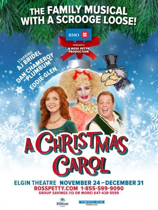 A Christmas Carol Poster.A Christmas Carol